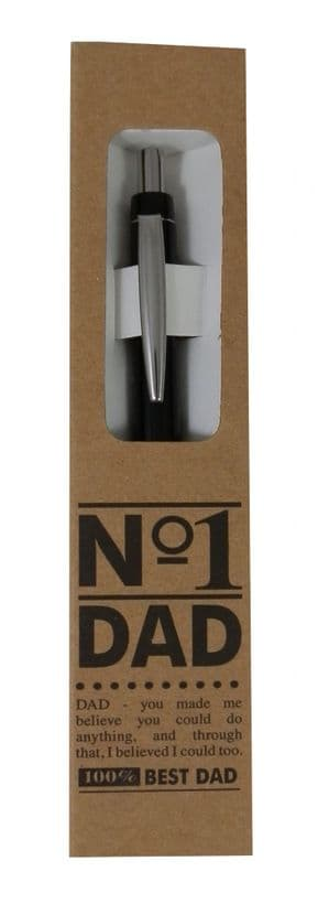 GREAT GIFT FOR DAD 'No 1 DAD' BOXED BALL POINT PEN..