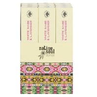 NATIVE SOUL WHITE SAGE & LAVENDER INCENSE STICKS