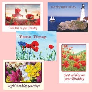 Birthday Cards - AV Selection (EC332) - replaced with EC368