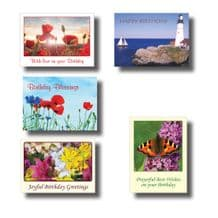 Birthday Cards - AV Selection Set 1 (EC368)