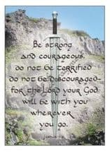 Classic - Be strong and courageous (JCP19)