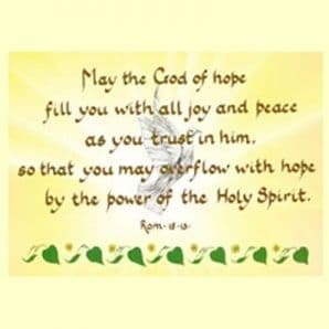 Classic - May the God of Hope (JCL31)