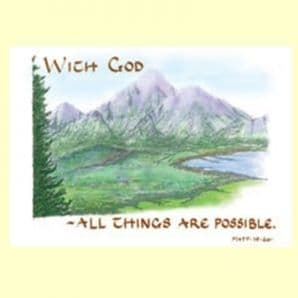 Classic - With God all things... (JCL33)