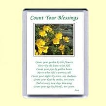 Fridge Magnet - Count your blessings (MPP02)