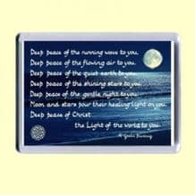 Fridge Magnet - Deep peace (MJCL29)