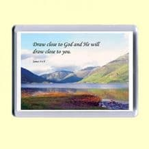 Fridge Magnet - Draw close to God (MPL12)
