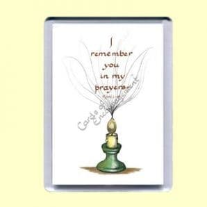 Fridge Magnet - I remember you in my prayers (MJCP10)