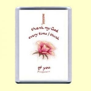 Fridge Magnet - I thank my God (MJCP20)