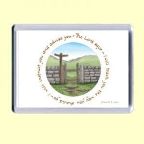 Fridge Magnet - I will instruct you (MJCL24)