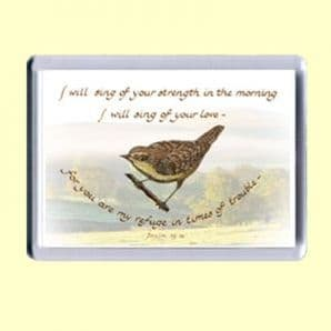 Fridge Magnet - I will sing (MJCL20)