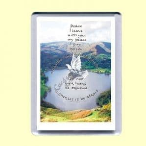 Fridge Magnet - Let not your heart be troubled (MJCP05)