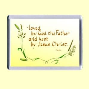 Fridge Magnet - Loved by God the Father (MJCL02)