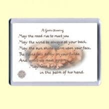 Fridge Magnet - May God hold you (MJCL36)