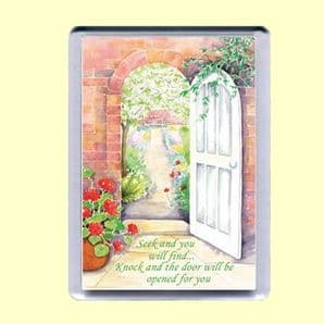 Fridge Magnet - Seek and you will find (MJCP28)