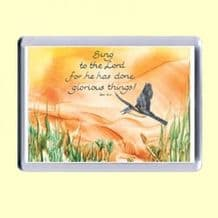 Fridge Magnet - Sing to the LORD (MJCL28)