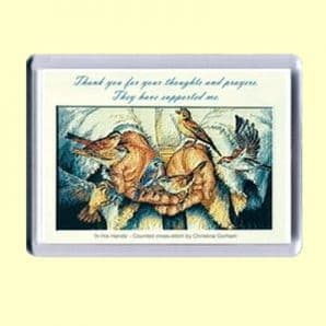Fridge Magnet - Thank you for your prayers (MPL14)