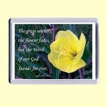 Fridge Magnet - The grass withers (MPL13)