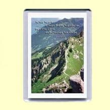 Fridge Magnet - The LORD determines his steps (MPP03)