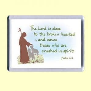Fridge Magnet - The LORD is close (MJCL08)
