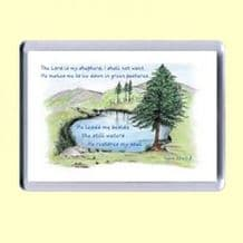 Fridge Magnet - The LORD is my Shepherd (MJCL25)