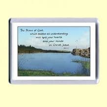 Fridge Magnet - The peace of God (MJCL34)