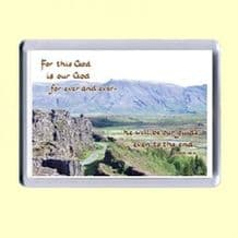 Fridge Magnet - This is our God (MJCL07)