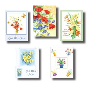 Get Well Cards - Set A (EC308)