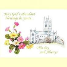 Occasions - God's Abundant Blessings (Ps. 16:2,5&11) (OL04)