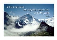 Pack of 10 Pocket Cards - O LORD, our LORD (PKTPL07)
