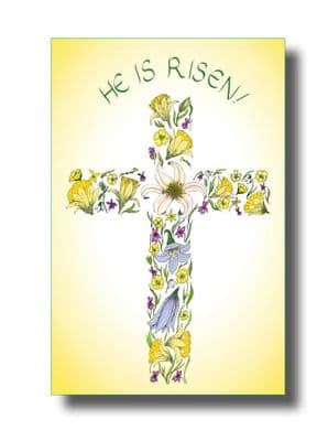 Pack of 5 Easter Cards - He is Risen! (EC346)