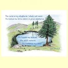 Pack of 5 Postcards - The LORD is my Shepherd (PCCL25)