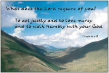 Photo - What does the LORD require (PL03)