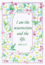 Resurrection and Life (EC313) - SORRY - SOLD OUT
