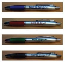 Set of 4 pens - God is ... (XX169)