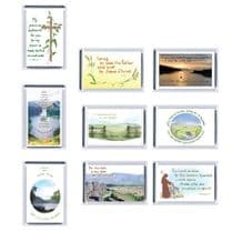 Set of 9  C of E  Fridge Magnets - Set 2 (XX172)