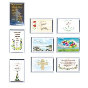 Set of 9  C of E  Fridge Magnets - Set 3 (XX173)