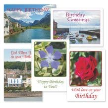 Set of Birthday Cards - Eternal Blessings (EC246)