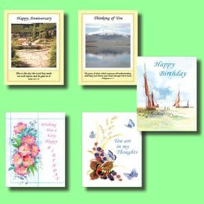 Set of Most Popular Occasion Cards (OP19)