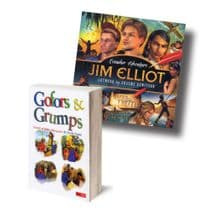 Two Books - Jim Elliot: Ecuador Adventure and Gofars & Grumps (BK999)