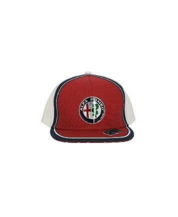 Alfa Romeo Racing Official Adults Giovinazzi Flatbrim Cap - 2019