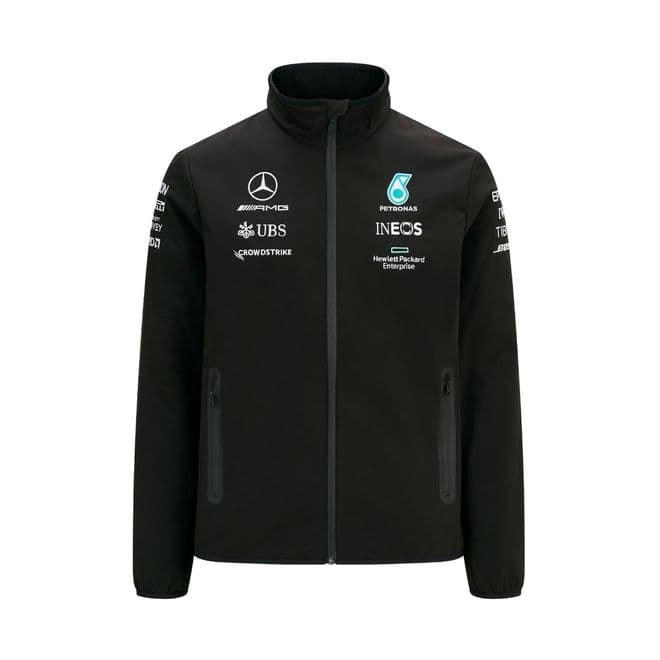 Mercedes-AMG Petronas Men's Team SoftShell Jacket - 2021