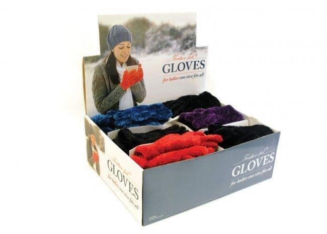 Ladies Feather Touch Gloves