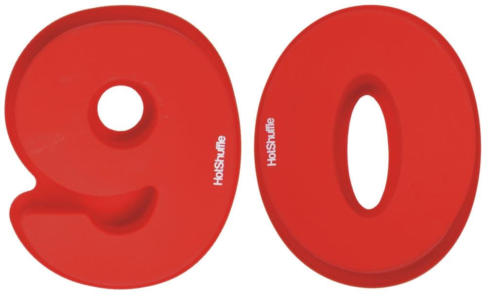 Large 30cm Silicone Number 90 90th Birthday Cake Mould Tin Set