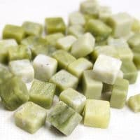 10mm Marble Cube - Emerald Green - 100g