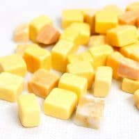 10mm Marble Cube - Yellow Gold - 100g