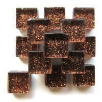 10mm Mini Glitter Tiles - Molasses - 50g