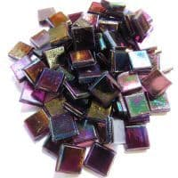 10mm Mini Transparent - Purpurite - 81 Tiles