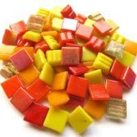 10mm Square Mix - Endless Summer - 250g