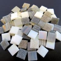 10mm Square Mix - Serenity - 50g