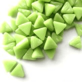 10mm Triangle - Apple Green Gloss - 50g
